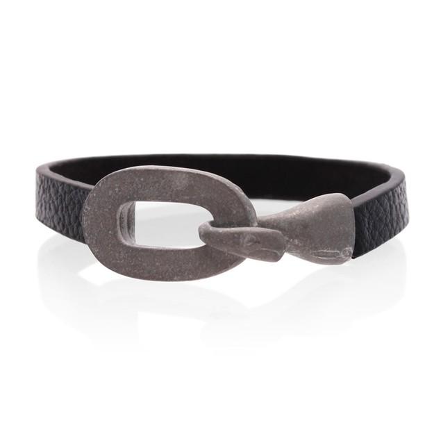 Octavius Black Cuff Bracelet