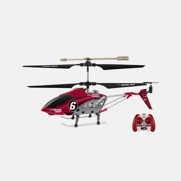 NBA Miami Heat Lebron James RC Helicopter