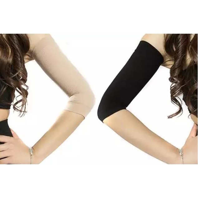 Set of 2 Arm Compression Detox Slimming Wraps