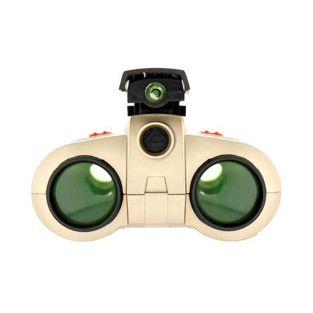 Night Vision 4x30 Scope Binoculars with LED Light Kids Toy