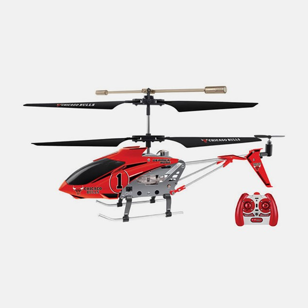NBA Licensed Chicago/Derrick Rose RC Helicopter