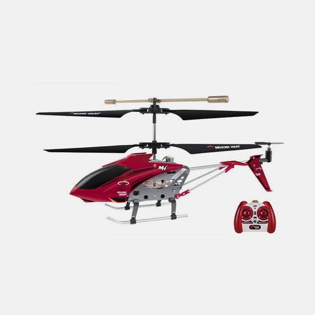 NBA Miami Heat Team RC Helicopter