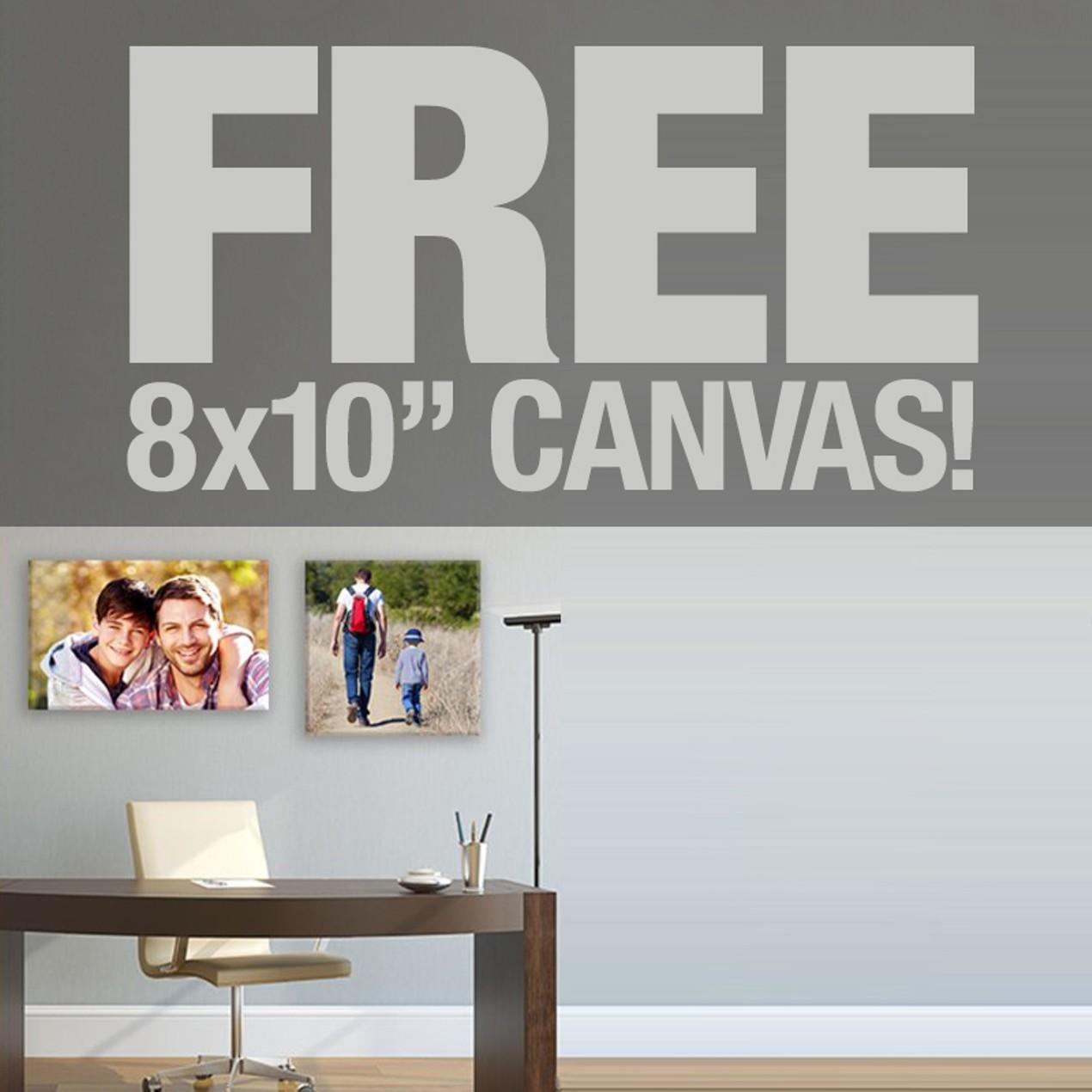 Free 8x10 Canvas Print - Tanga