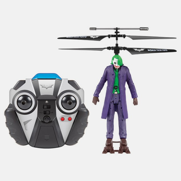 DC Comics World Tech Joker 3.5CH RC Helicopter