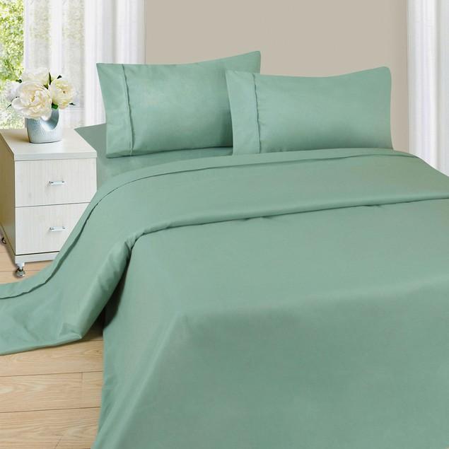 Lavish Home Series 1200 4 Piece Sheet Set - Sage