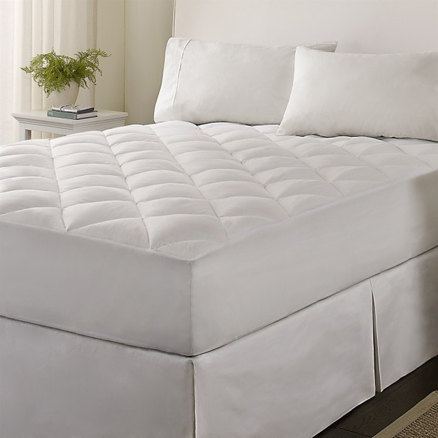 Wrap a Bed Plush Fitted Mattress Pad