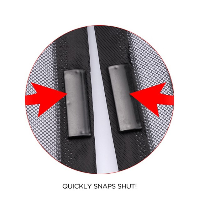 Auto Open & Close Magnetic Screen Door