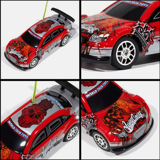 Licensed West Coast Customs Red Tricked Out X-Ryders 1:32 RTR RC Car
