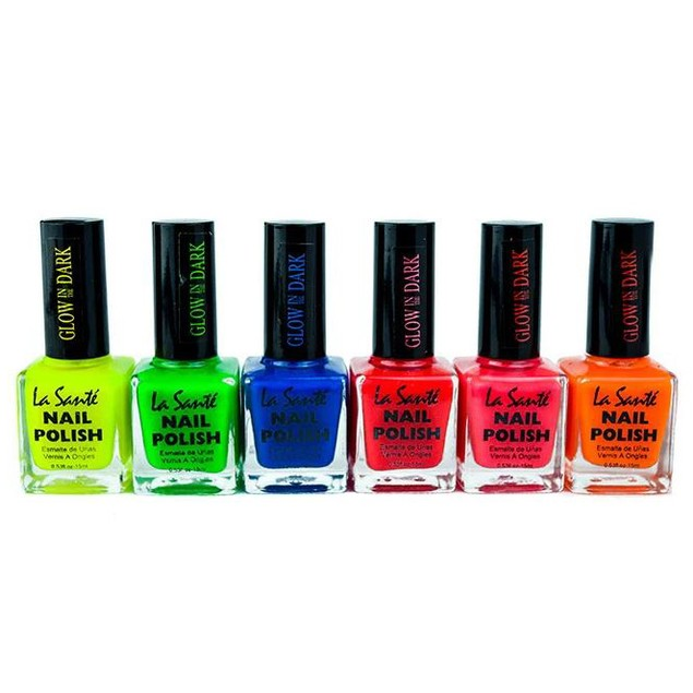 6-Pack La Sante Nail Polish Sets- 4 Styles