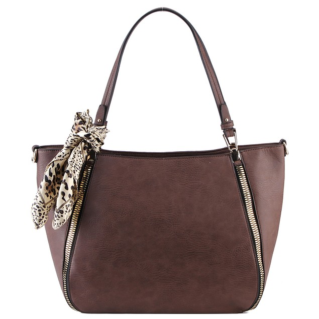 MKF Collection Zara Side Zip Tote by Mia K