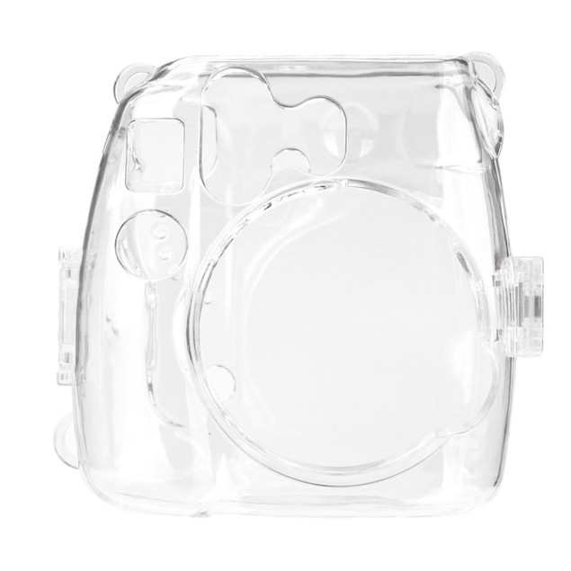 Thin Crystal Clear PC Hard Case Cover For FujiFilm Instax Mini8 Camera