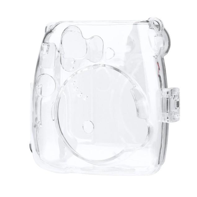 Thin Crystal Clear PC Hard Case Cover For FujiFilm Instax Mini8 Camera