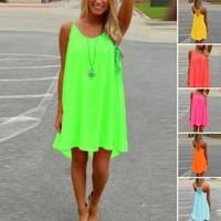 Deals on Women's Summer Casual Sleeveless Mini Dress